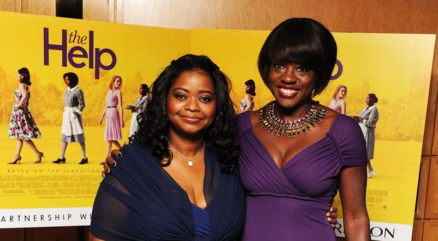 Octavia Spencer and Viola Davis starred in The Help (Ian West/PA)