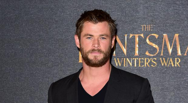Chris Hemsworth has joked about his birthday party (Ian West/PA)