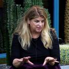 Kirstie Alley in the Celebrity Big Brother house sharing a story about Prince Charles (Channel 5/PA)