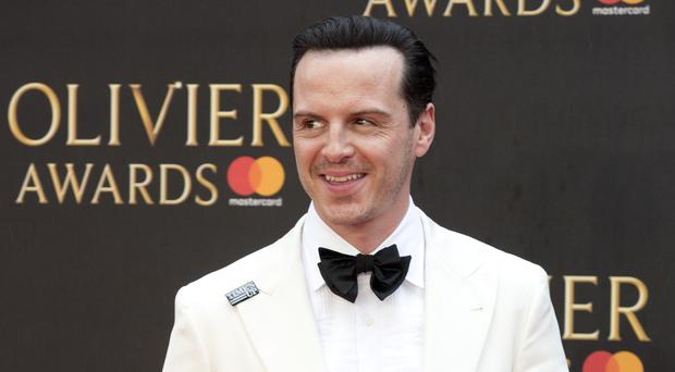 ccc4c79d3d Andrew Scott played Professor Moriarty in Sherlock and an antagonist to  Daniel Craig in Spectre (