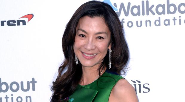 Michelle Yeoh said she is 'overwhelmed' by the success of Crazy Rich Asians (Anthony Devlin/PA)