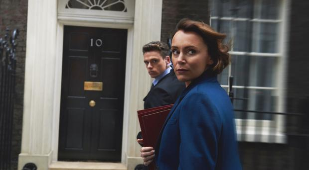 Bodyguard peaked with 6.9 million viewers (BBC/World Productions/Des Willie)