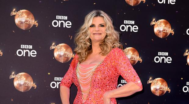 Susannah Constantine at the launch of Strictly Come Dancing (PA)