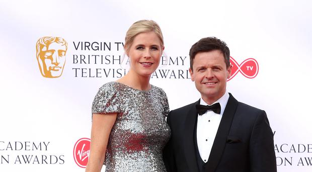 Declan Donnelly with wife Ali Astall (Isabel Infantes/PA)