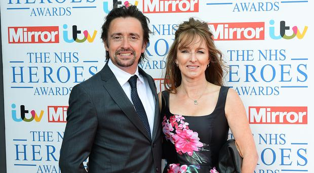 Richard Hammond's wife Mindy believes the pair were knocked out by anaesthetic gas in their St Tropez villa (Ian West/PA)