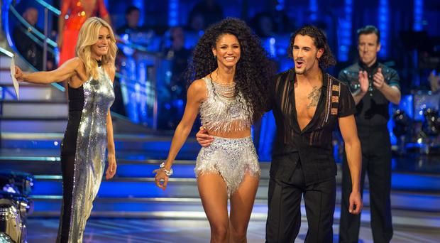 Vick Hope has been paired with Strictly newcomer Graziano Di Prima (BBC)