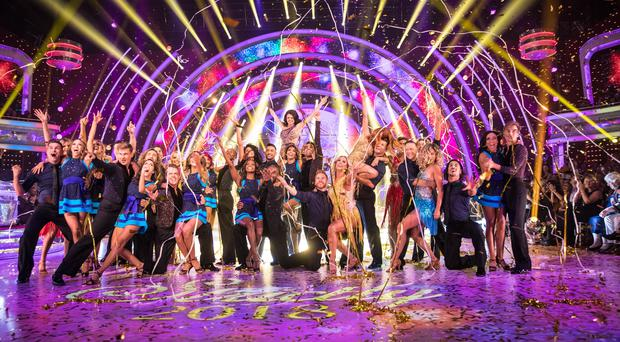 Strictly Come Dancing 2018's launch show beat The X Factor in the ratings (BBC/Guy Levy)
