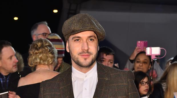 Shayne Ward will be among the stars attending the TV Choice Awards 2018 (Matt Crossick/PA)
