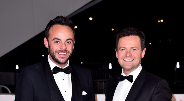 Anthony 'Ant' McPartlin (left) and Declan 'Dec' Donnelly (PA)