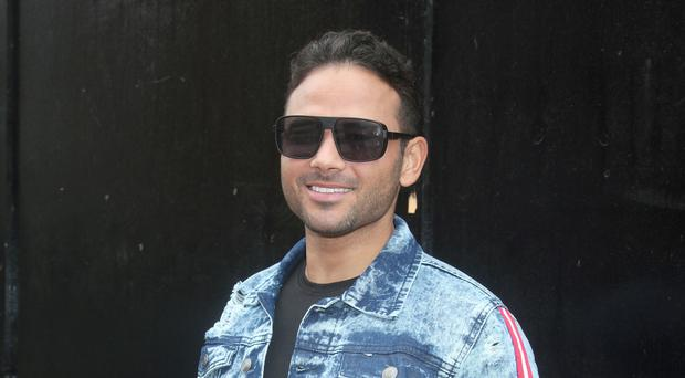 Ryan Thomas arrives at Channel 5 studios in central London to appear on The Jeremy Vine Show (Yui Mok/PA)