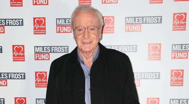 Sir Michael Caine has spoken about policing in London (Jonathan Brady/PA)