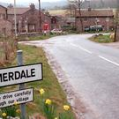 A sign in the village of Emmerdale in Yorkshire (Helen Turton/PA)