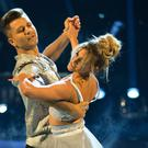 Pasha Kovalev and Ashley Roberts (Guy Levy/BBC)