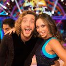Seann Walsh has been paired with last year's winner Katya Jones (BBC/Guy Levy)