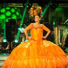 Susannah Constantine during a dress rehearsal for Strictly Come Dancing (Guy Levy/BBC)