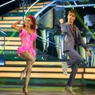 Joe Sugg performed the jive with Dianne Buswell on Saturday (Guy Levy/BBC)