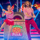 Katya Jones and Seann Walsh on Strictly Come Dancing (Guy Levy/BBC)