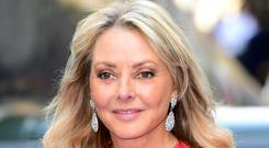 Carol Vorderman will stand in for Lorraine Kelly on ITV. (Ian West/PA)