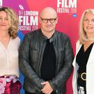 Festival director Tricia Tuttle, director Lenny Abrahamson and BFI CEO Amanda Nevill (Ian West/PA)