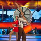 Danny John-Jules and his dance partner Amy Dowden (BBC/PA)