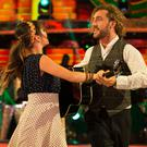 Seann Walsh and Katya Jones (Guy Levy/BBC)