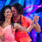 Vick Hope and Graziano Di Prima (Guy Levy/BBC/PA)