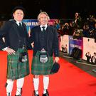 John C. Reilly and Steve Coogan attended the Stan and Ollie premiere as part of the BFI London Film Festival at the Cineworld Cinema (Ian West/PA)
