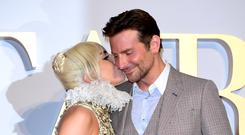 Lady Gaga and Bradley Cooper (PA)
