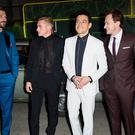 Gwilym Lee, Ben Hardy, Rami Malek and Joe Mazzello attending the Bohemian Rhapsody World Premiere (Matt Crossick/PA)