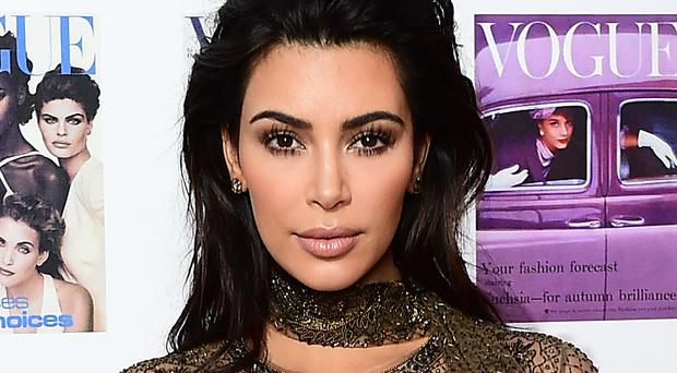 Kim Kardashian West has been forced to flee her home after wildfires engulfed parts of California (Ian West/PA Wire)