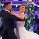 Aljaz Skorjanec and Kate Silverton (BBC)