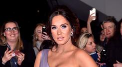 Vicky Pattison pays tribute to best friend after first birthday since his death (Matt Crossick/PA)