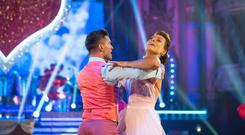 Kate Silverton and Aljaz Skorjanec have been eliminated from Strictly Come Dancing (Guy Levy/PA)