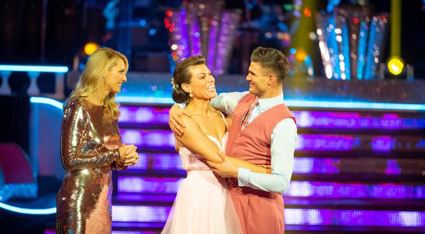 Kate Silverton hailed 'true professional' and 'gracious' as she exits Strictly (Guy Levy/BBC)