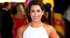 Saira Khan nearly turned down Dancing On Ice before her son changed her mind (Ian West/PA)