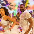 Charles Venn and Karen Clifton (BBC)