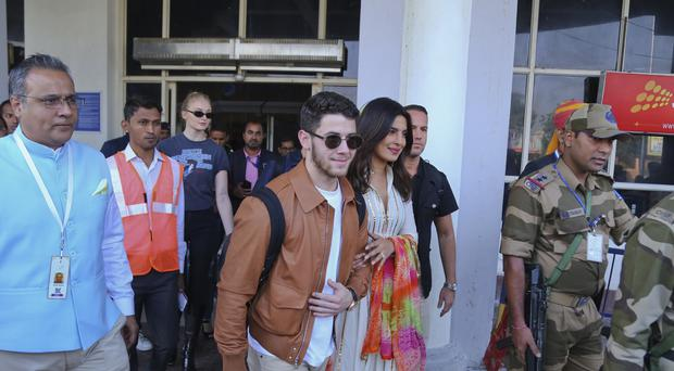 Nick Jonas and Priyanka Chopra have opened up on their 'fairy tale' wedding after tying the knot in India (AP Photo/Sunil Verma)