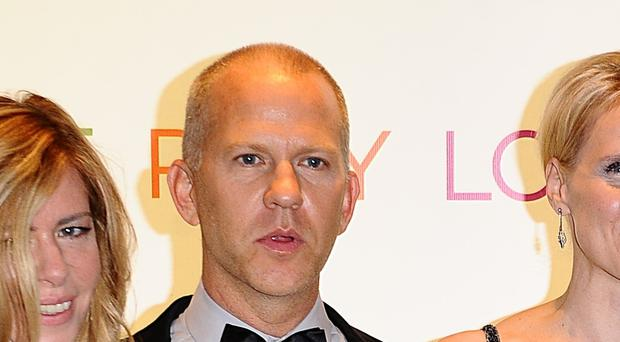(left to right) Dede Gardner, Ryan Murphy, Elizabeth Gilbert, Julia Roberts and Richard Jenkins arriving for the gala premiere of Eat Pray Love at the Empire, Leicester Square, London.