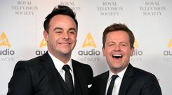 Ant McPartlin and Declan Donnelly (Dominic Lipinski/PA)