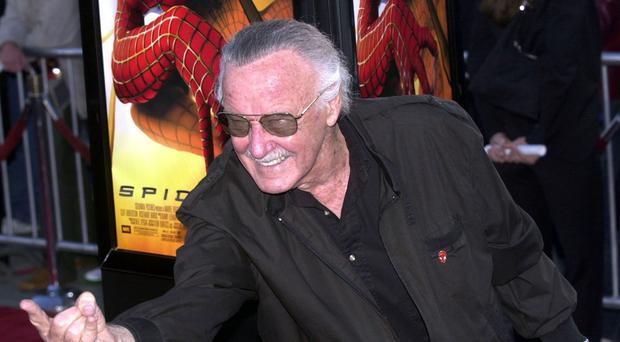 The producers of Spider-Man: Into The Spider-Verse praised 'positive spirit' Stan Lee as they discussed the first Marvel movie to be released following his death (PA)