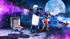 Shaun the Sheep abducted by aliens in Farmageddon film teaser (StudioCanal)