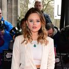 Emily Atack makes body positive pledge after return from I'm A Celebrity (Ian West/PA)