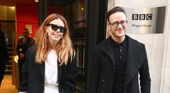 Strictly Come Dancing finalists Stacey Dooley and Kevin Clifton (Gareth Fuller/PA)