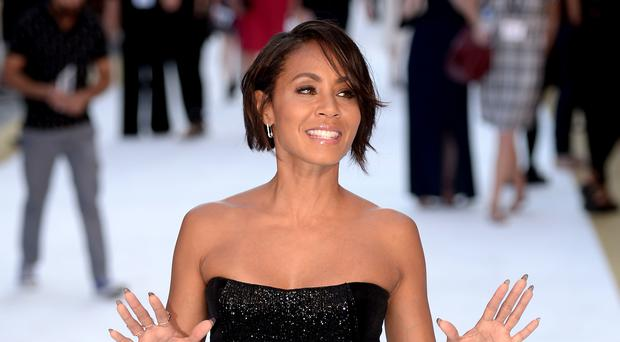 Jada Pinkett Smith opened up on her mental health 'collapse' during a discussion with the rapper Kid Cudi (Anthony Devlin/PA)