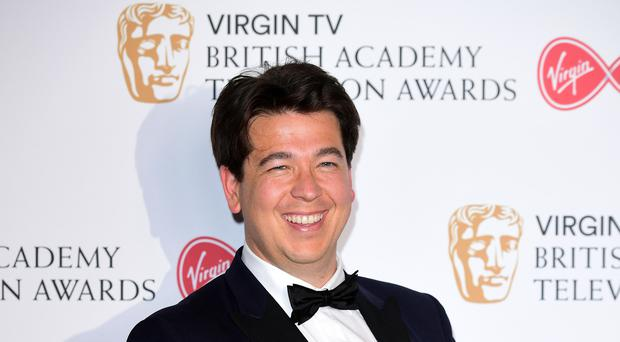 Michael McIntyre's Big Christmas Show, on BBC One, was the surprise hit of the day (Ian West/PA)