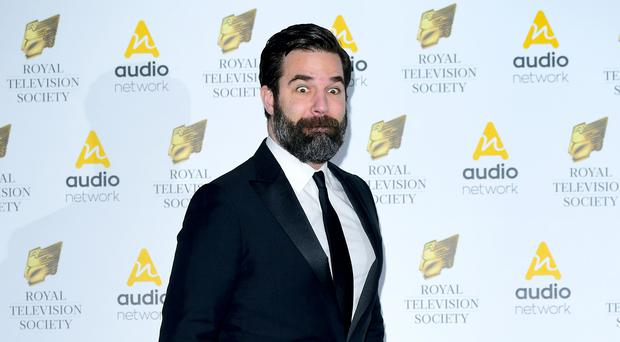 Rob Delaney announced the death of his two-year-old son on Twitter in February and confirmed wife Leah was pregnant again in June (Ian West/PA)