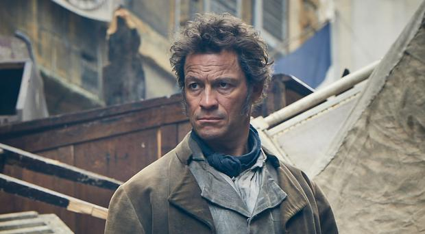 Jean Valjean, played by Dominic West in the new BBC adaptation of Les Miserables (Robert Viglasky/BBC)