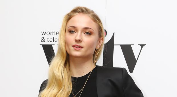 Game Of Thrones star Sophie Turner Piers Morgan for saying celebrities talk about mental health because it is 'fashionable' (Gareth Fuller/PA)