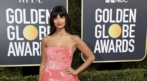 Jameela Jamil said Khloe Kardashian has been 'fat-shamed into a prison of self-critique' (Jordan Strauss/Invision/AP)