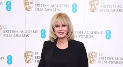 Joanna Lumley attending the EE British Academy Film Awards nominations announcement at BAFTA, London.
